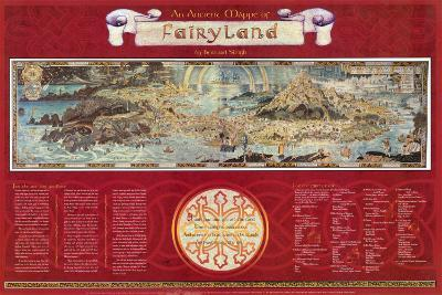 Ancient Map of Fairyland