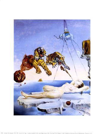 Dream Caused by the Flight of a Bee around a Pomegranate, c. 1944