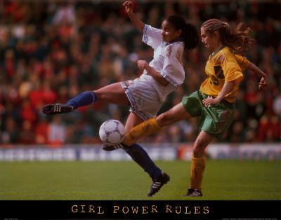 Girl Power Rules Soccer