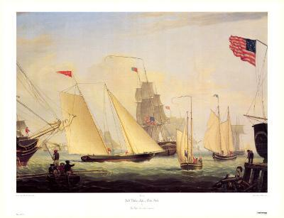 Northern Light in Boston Harbor