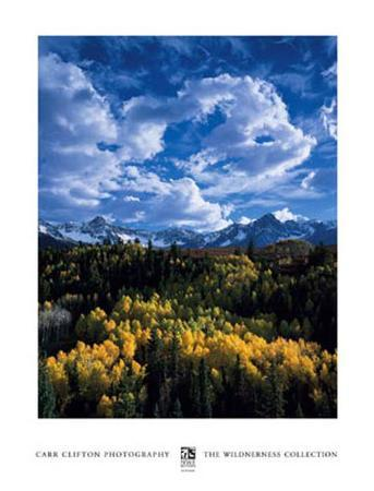 Peaks in Mount Sneffels Wilderness