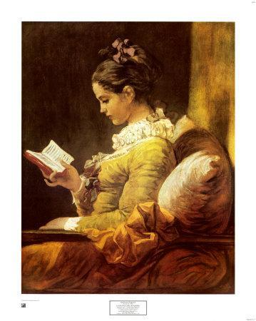 Young Girl Reading, 1776