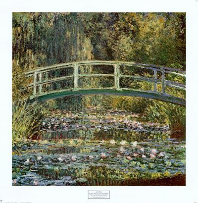 Water Lilies and Japanese Bridge, 1899