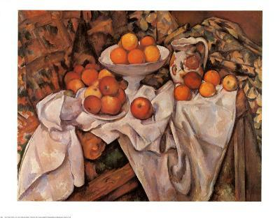 Still Life with Apples and Oranges, c.1895-1900