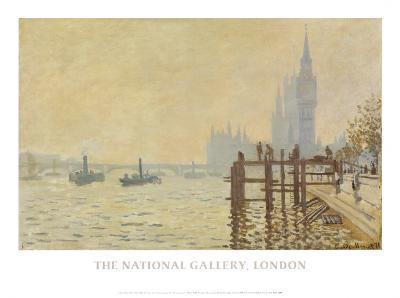 Thames Below Westminster