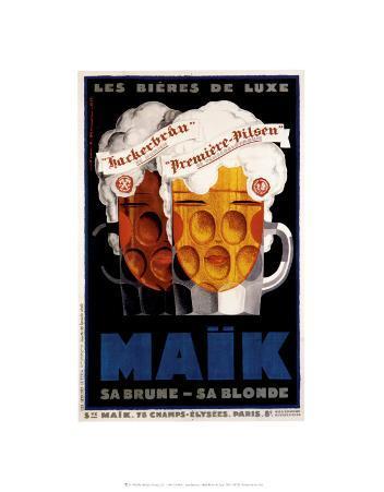 Maik-Les Bieres de Luxe, 1929