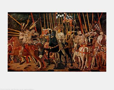 The Battle of San Romano, Right Panel, c.1454-57