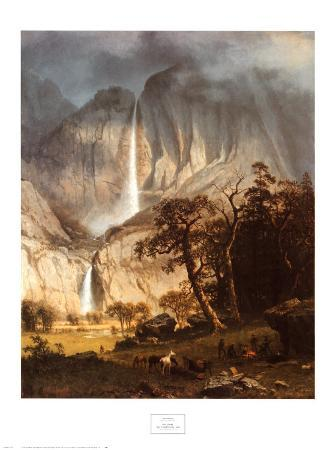 Cho-looke, the Yosemite Fall, 1864