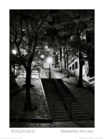 Montmartre, Paris, 1950