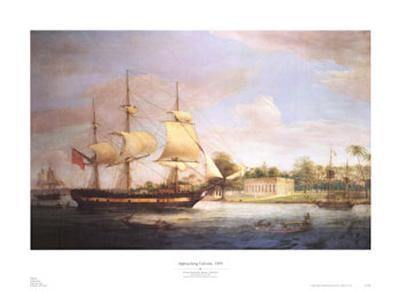 Approaching Calcutta, 1804