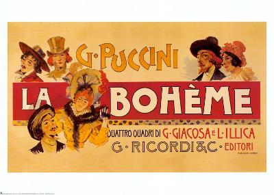 Puccini, la Bohème