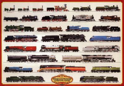Train Steam Locomotives