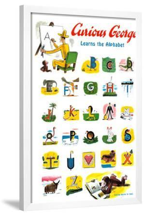 Curious George Learns The Alphabet Prints By H A Margret E Rey At AllPosters