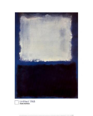 White on Blue, 1968