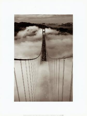 The Golden Gate Bridge in Fog