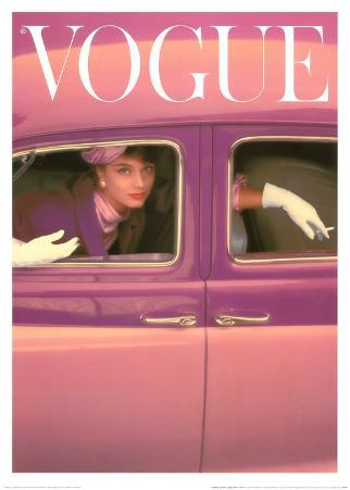 Vogue Cover, October 1957