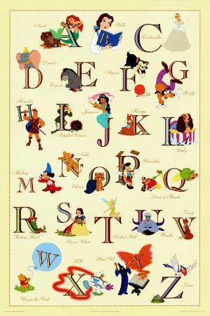 The Disney Alphabet