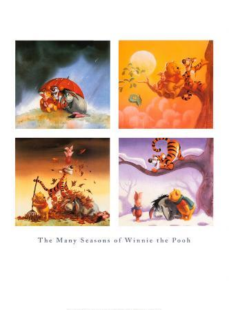 Many Seasons of Winnie the Pooh