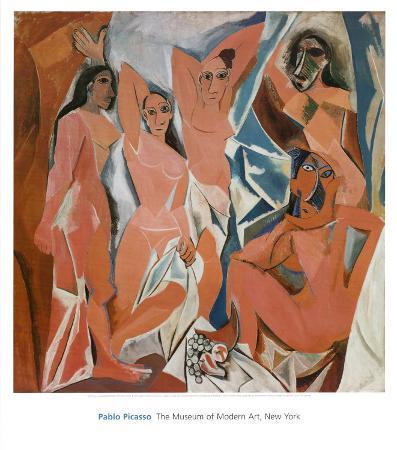 Les Demoiselles d'Avignon, c.1907