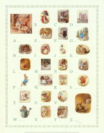 Petter Rabbit Alphabet