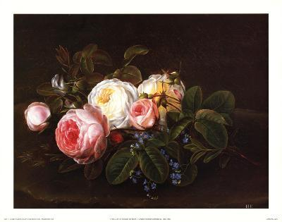 Still Life with Roses and Forget