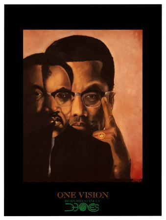 One Vision, Malcolm X and Martin Luther King Jr.