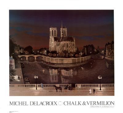 Chevet de Notre-Dame, La Nuit
