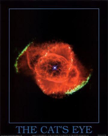Cat's Eye Nebula Print