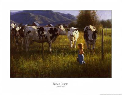 Anniken and the Cows