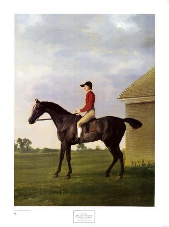 Gimcrack, with John Pratt Up, on Newmark