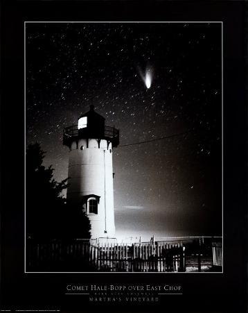 Comet Hale-Bopp over East Chop