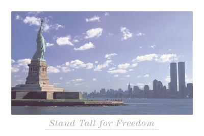 Stand Tall for Freedom-Statue Lib and Wtc