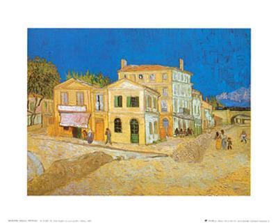 The Yellow House at Arles, c.1889