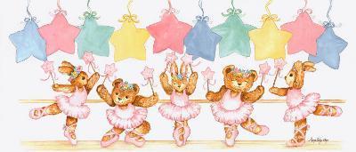 Pastel Ballet Class