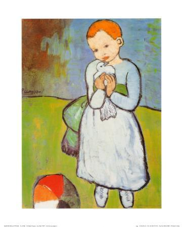 Child with a Dove, c.1901