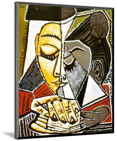 #39638 30x24cm Pablo Picasso Tête D/'une Femme Bild Poster