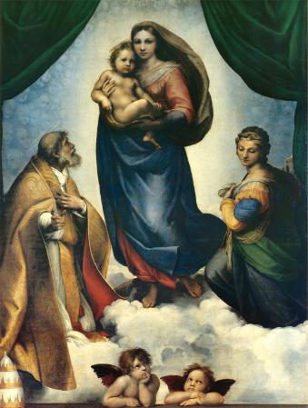 Sistine Madonna, c.1513-1514