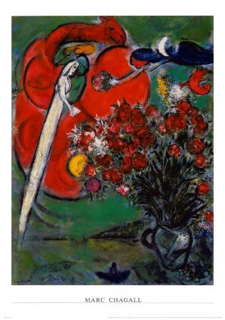 Blumenstilleben St.Jean Cap Ferrat, 1956