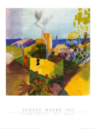 Landschaft am Meer, 1914
