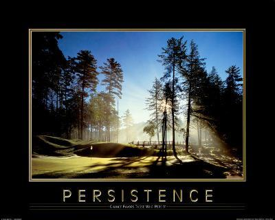 Persistence-Golf Course