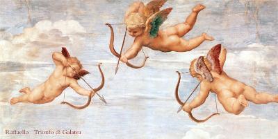 The Triumph of Galatea, 1511 (detail)