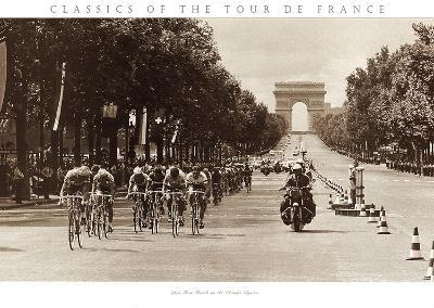 1975 Tour Finish on the Champs Elysees