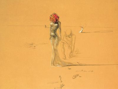 Female Figure with Head of Flowers, 1937