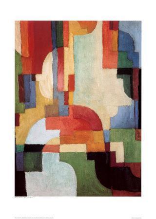Farbige Formen I, 1933