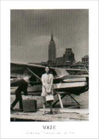 Mrs. Amory Carhart Travelling by Seaplane