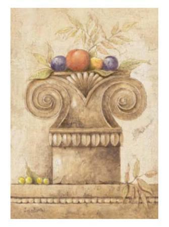 Capiteles con Frutas III