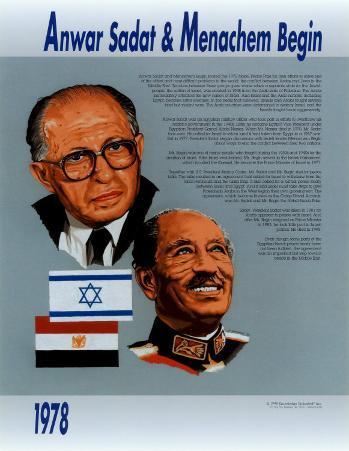 Anwar Sadat & Menachem Begin