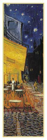 The Café Terrace on the Place du Forum, Arles, at Night, c.1888 (detail)