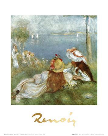 Ragazze in Riva al Mare, c.1894