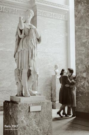 Love in the Louvre, Paris